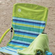 folding chair at the beach image number 2