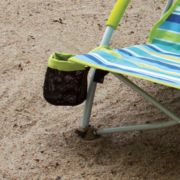 Camp chair with cupholder at beach image number 1