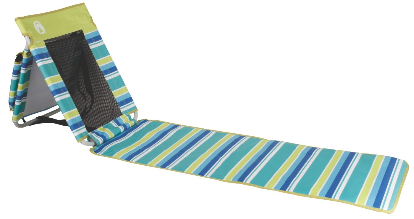 utopia breeze beach mat coleman rh coleman com Tropical Beach Mat with Pillow beach mat lounger chairs