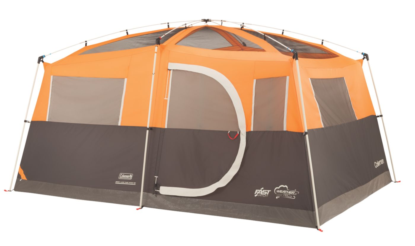 ... Jenny Lake™ Fast Pitch™ 8-Person Cabin with Closet ...  sc 1 st  Coleman & 8 Man Tent | Big Camping Tents | Coleman