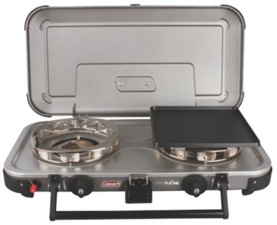 Hyperflame® FyreChampion™ 2-Burner Propane Stove with Griddles