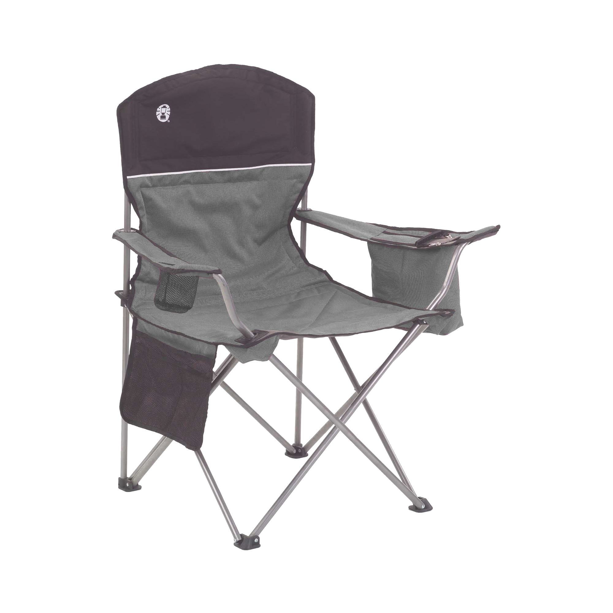 Coleman camp chairs - Coleman Oversized Quad Chair With Cooler