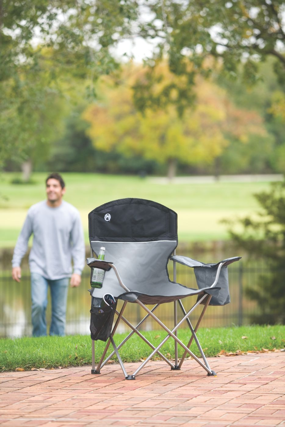 ... Coleman® Oversized Quad Chair With Cooler ...