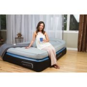 Aerobed OptiComfort Inflatable Airbed with Headboard & Built-In Pump, Queen image 2