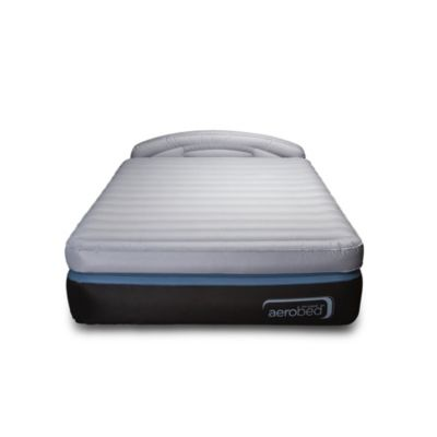 Aerobed OptiComfort Inflatable Airbed with Headboard & Built-In Pump, Queen