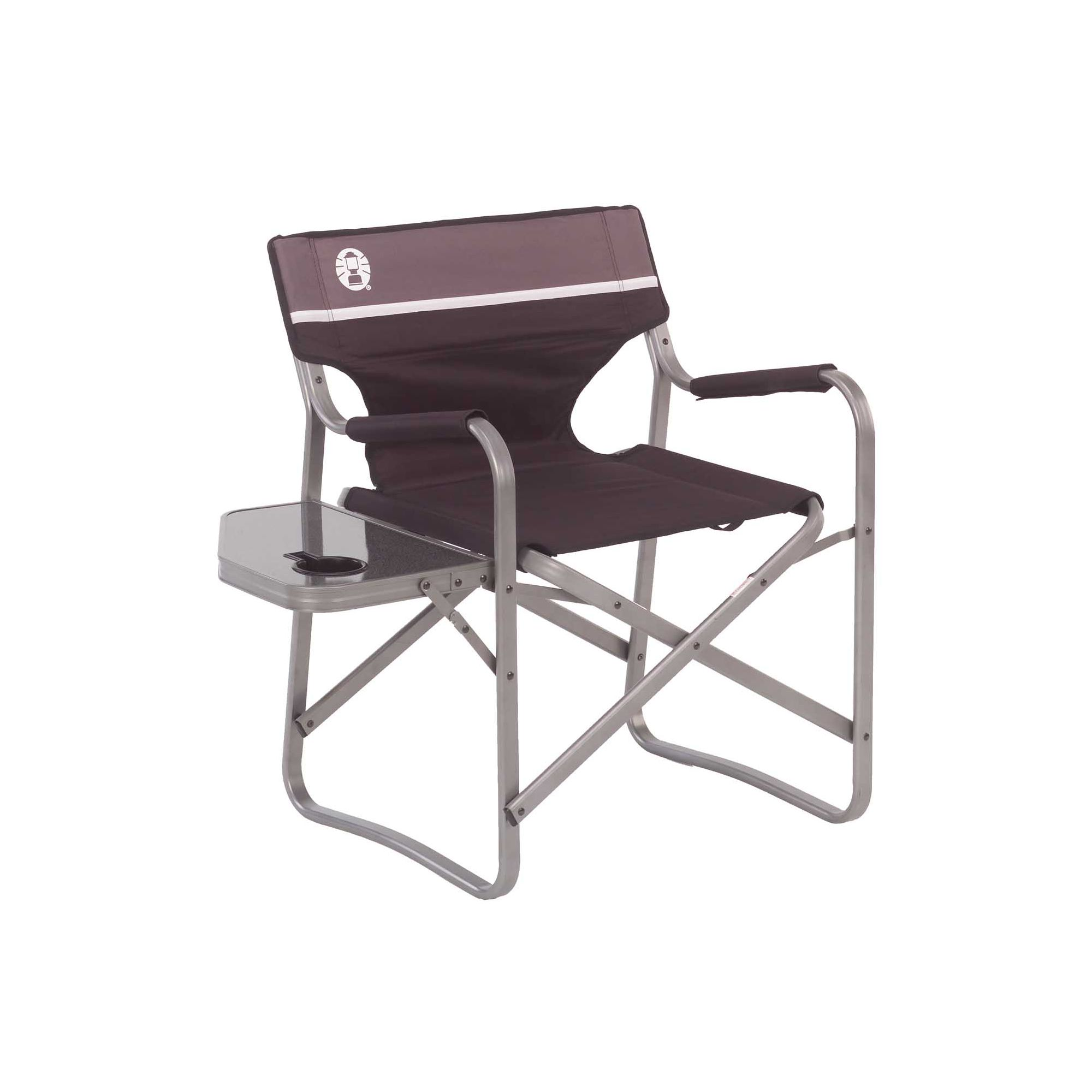 Coleman camp chairs - Aluminum Deck Chair