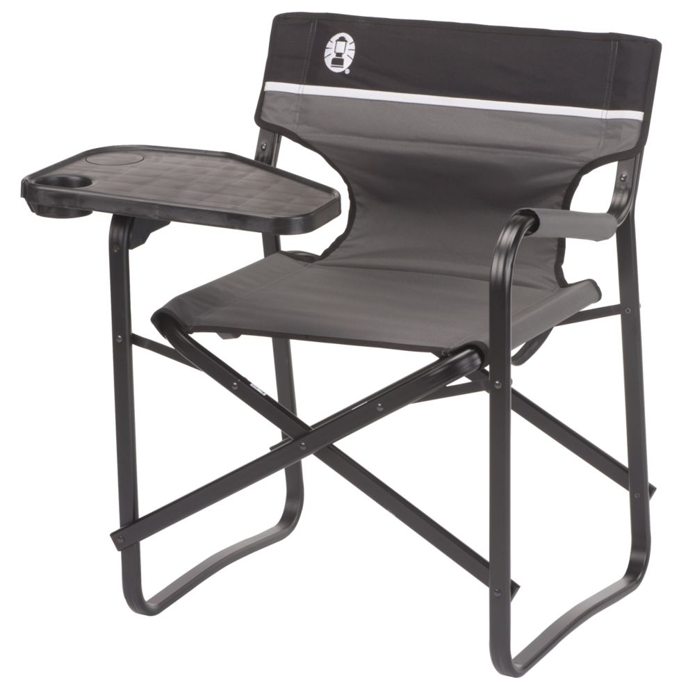 aluminum deck chair with swivel table coleman. Black Bedroom Furniture Sets. Home Design Ideas