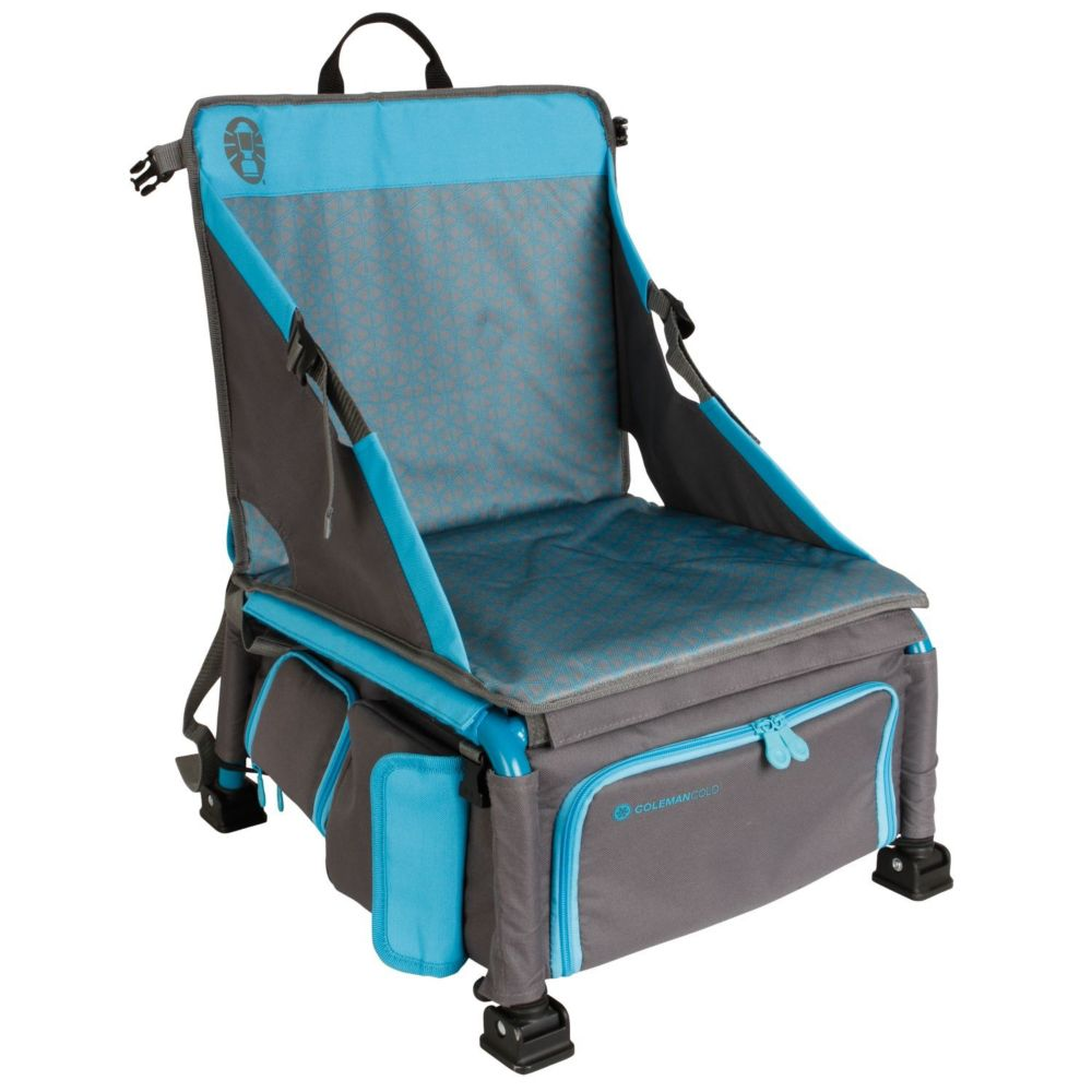 Coleman Camp Chairs - Treklite plus coolerpack chair