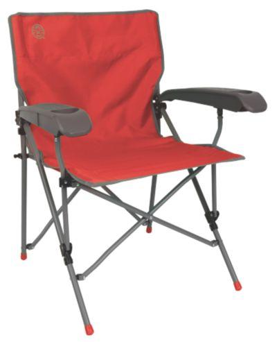 Chaise Vertex®  avec bras dur Rouge