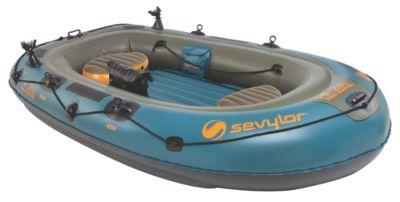 Fish Hunter™ 280 4-Person Fishing Boat with Berkley® Rod Holder