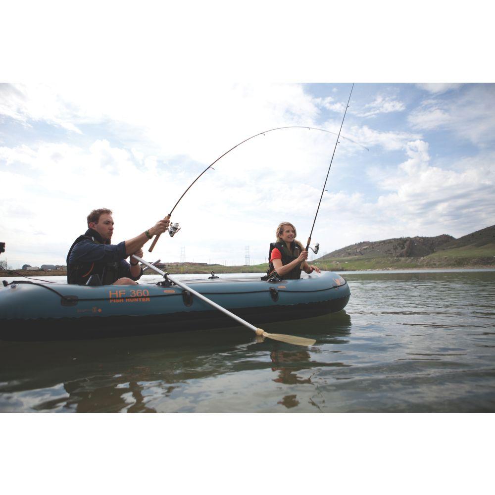Fish Hunter™ 360 6-Person Fishing Boat with Berkley® Rod
