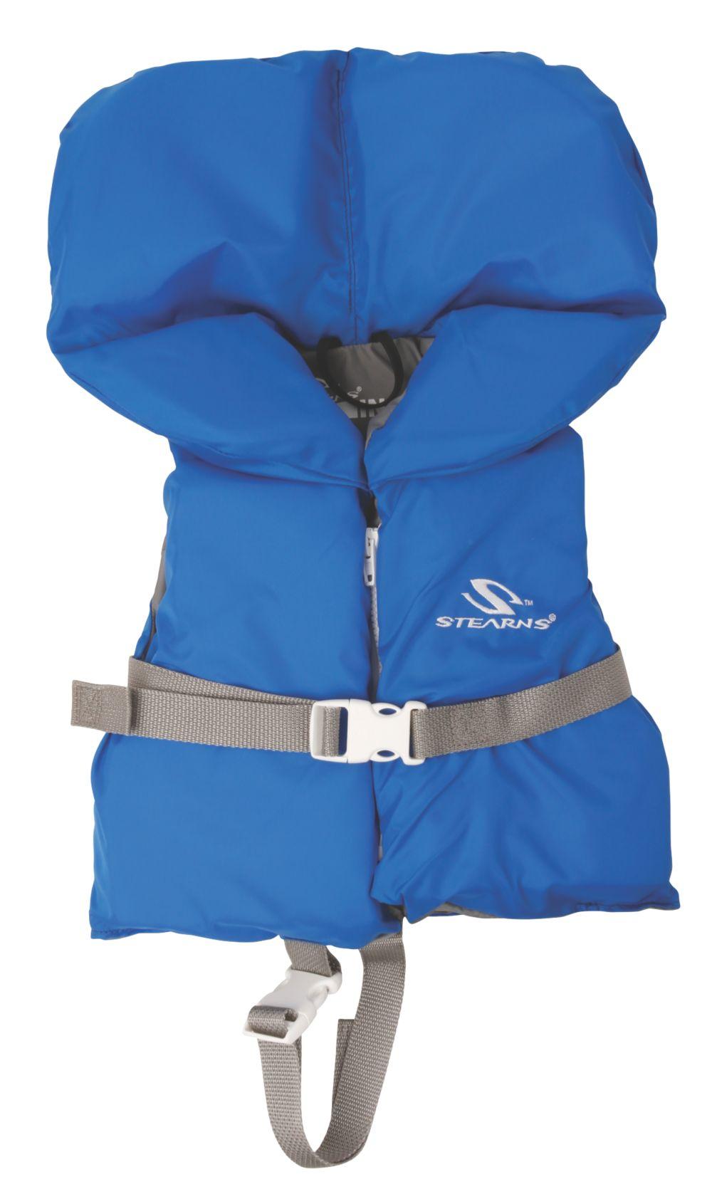 Veste de flottaison en nylon pour enfant – bleue