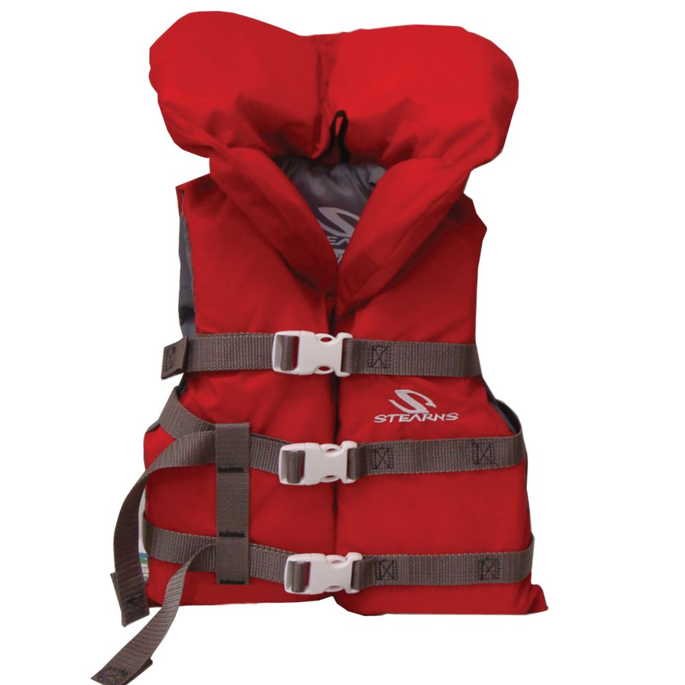 Youth Nylon Vest - Red