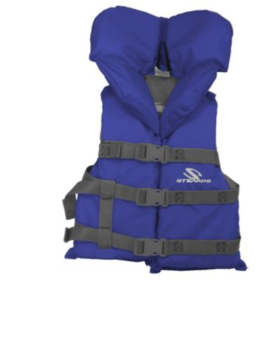 Youth Nylon Vest- Blue