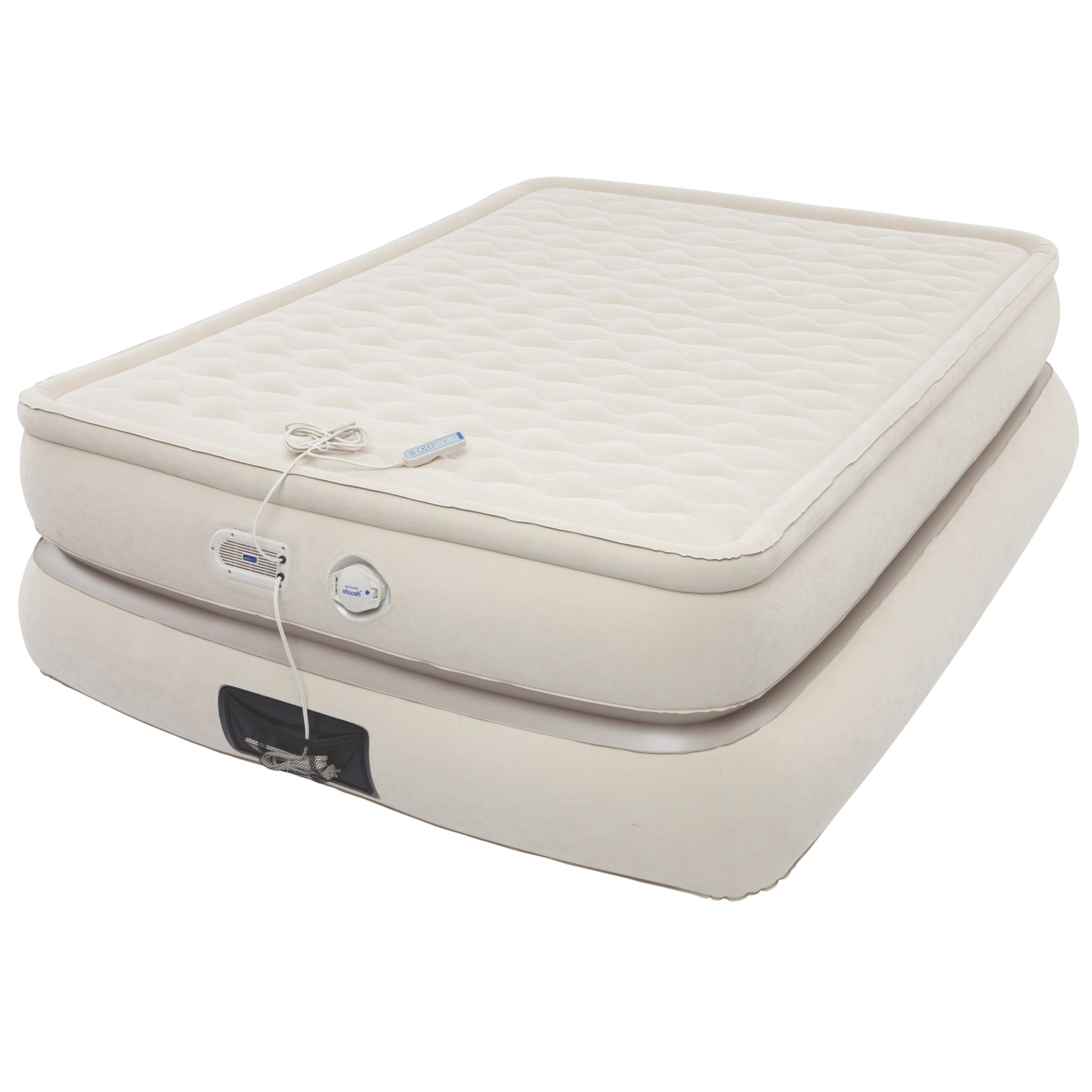 air full itm deluxe durabeam bed pump rest w mattress resource pillow inflatable intex