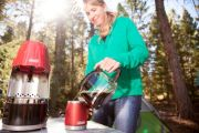 QuickPot™ 10-Cup Portable Propane Coffeemaker