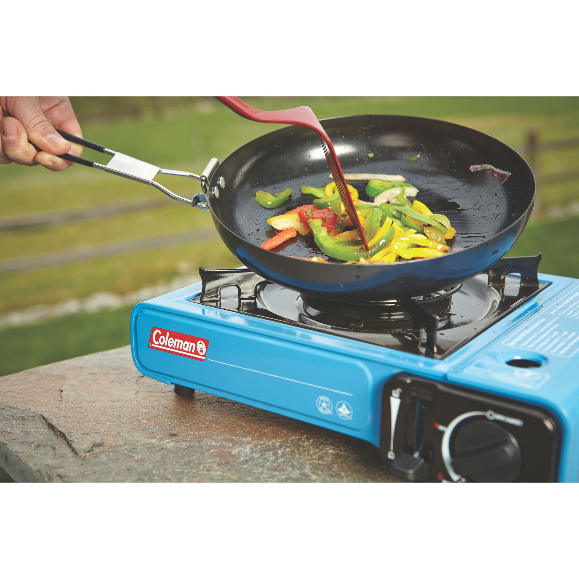 camping stoves  camping cooking gear  coleman -  butane stove