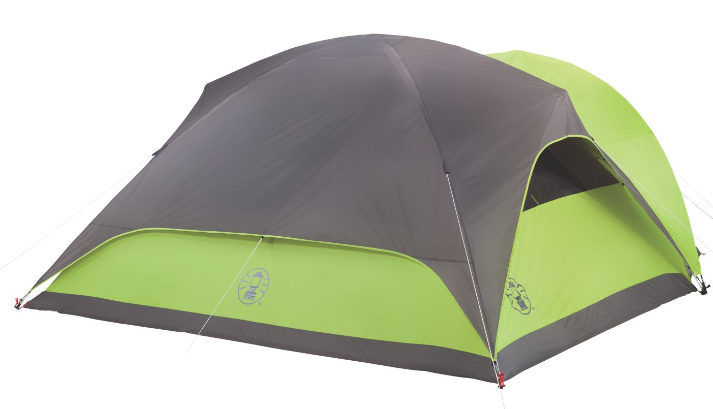 ... Evanston 8 Person Full Fly Tent with Vestibule ...  sc 1 st  Coleman & 8 Person Tent | Family Tent | Coleman