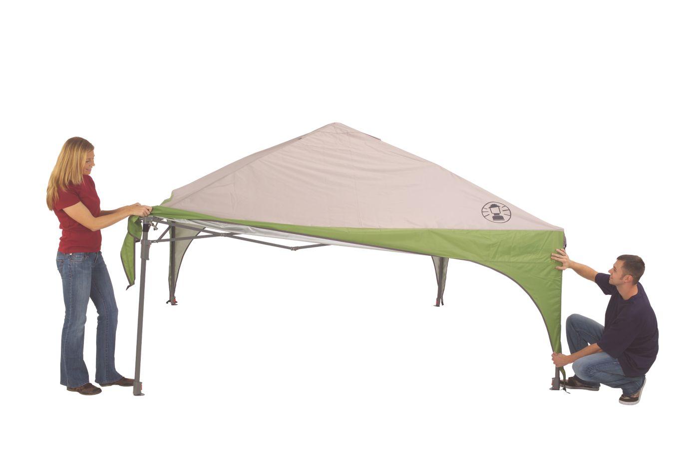 ... 10 x 10 Instant Sun Shelter ...  sc 1 st  Coleman & Coleman Instant Canopy | Instant Canopy | Coleman