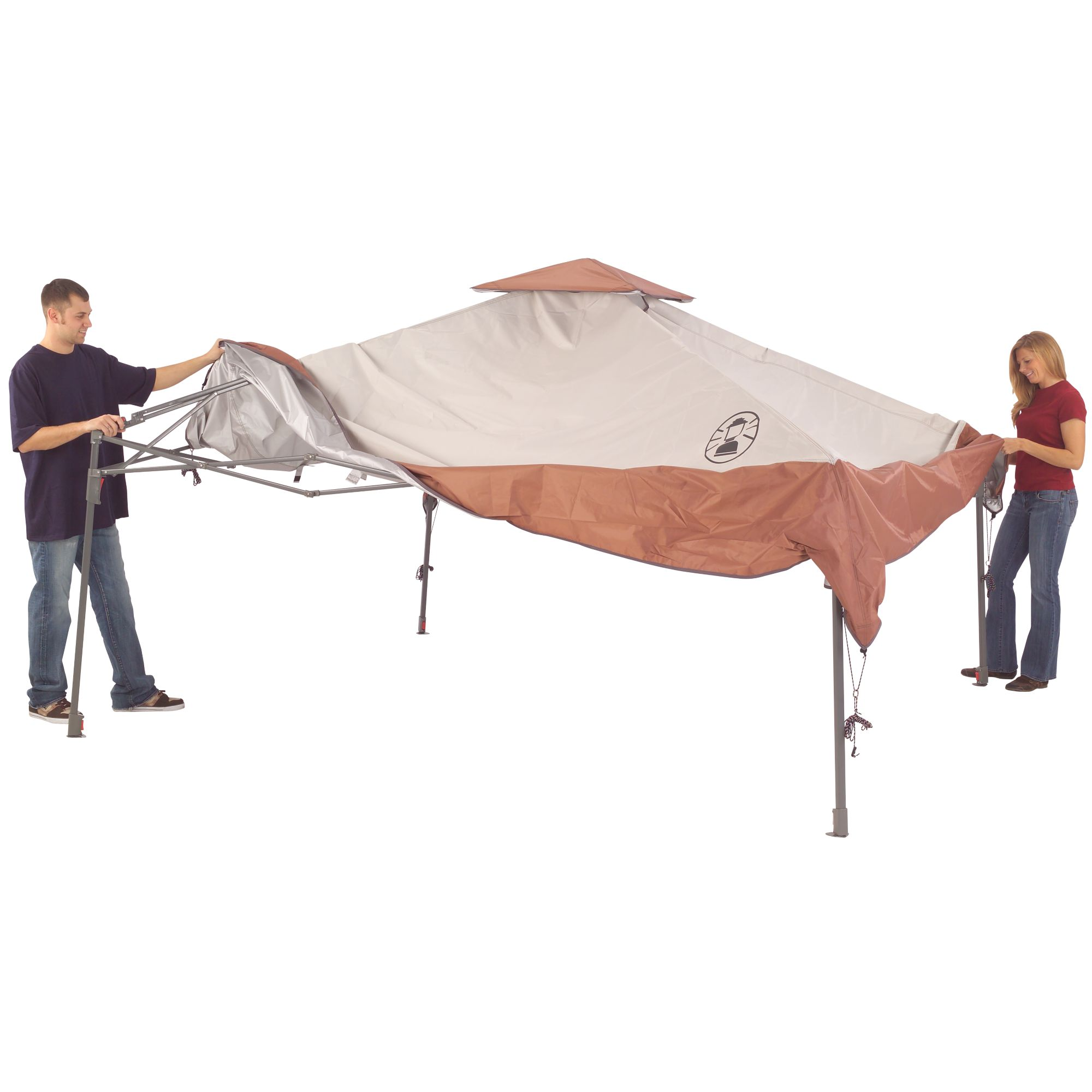 13 x 13 Instant Eaved Shelter | Coleman