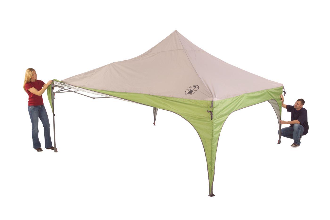... 12 x 12 Instant Sun Shelter ...  sc 1 st  Coleman & Instant Tent   Popup Tents   Coleman