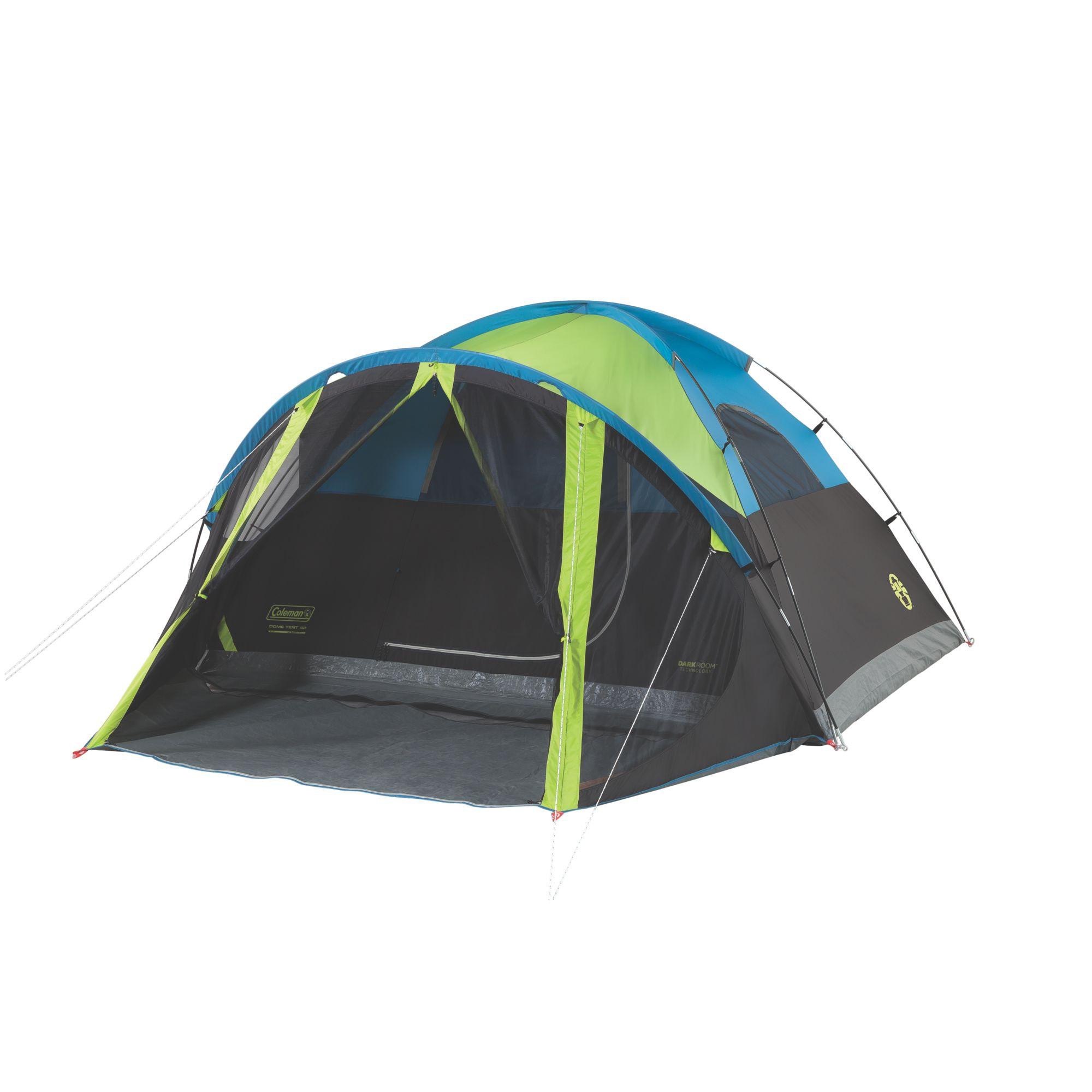 coleman dark room tent