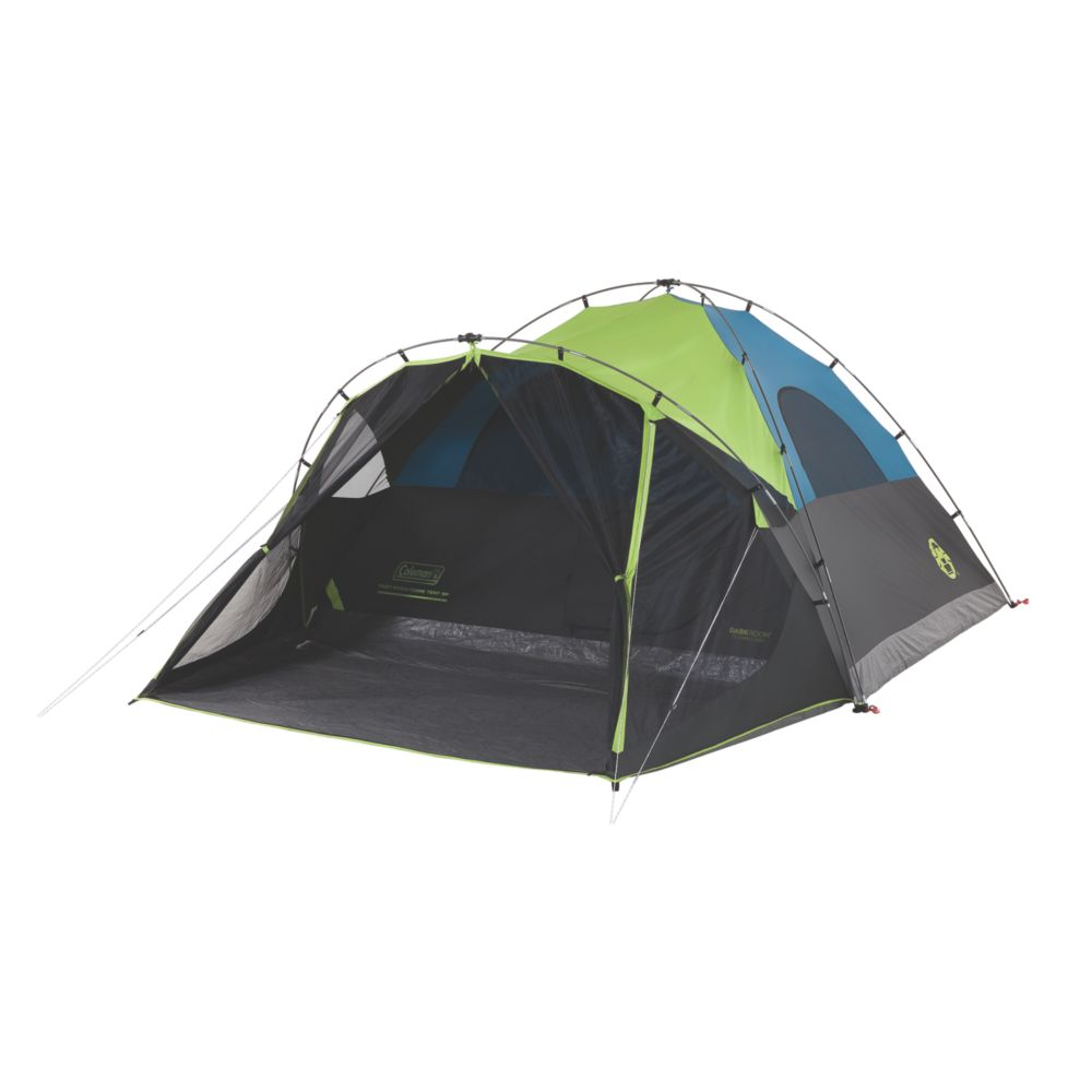6-Person Dark Room Fast Pitch Dome Tent with Screen Room