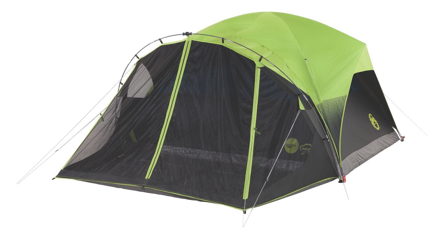 Carlsbad™ Fast Pitch™ 6-Person Dark Room Tent with Screen Room  sc 1 st  Coleman : 6 room tent - memphite.com