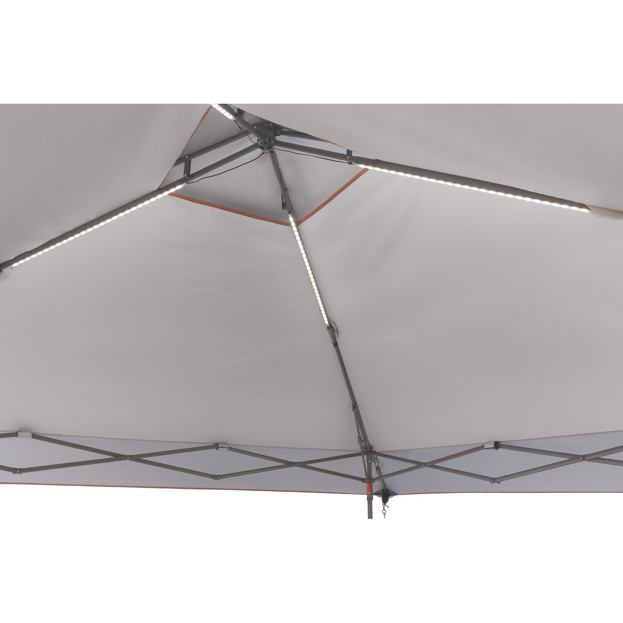 All Night™ 13 x 13 Instant Lighted Eaved Shelter | Coleman