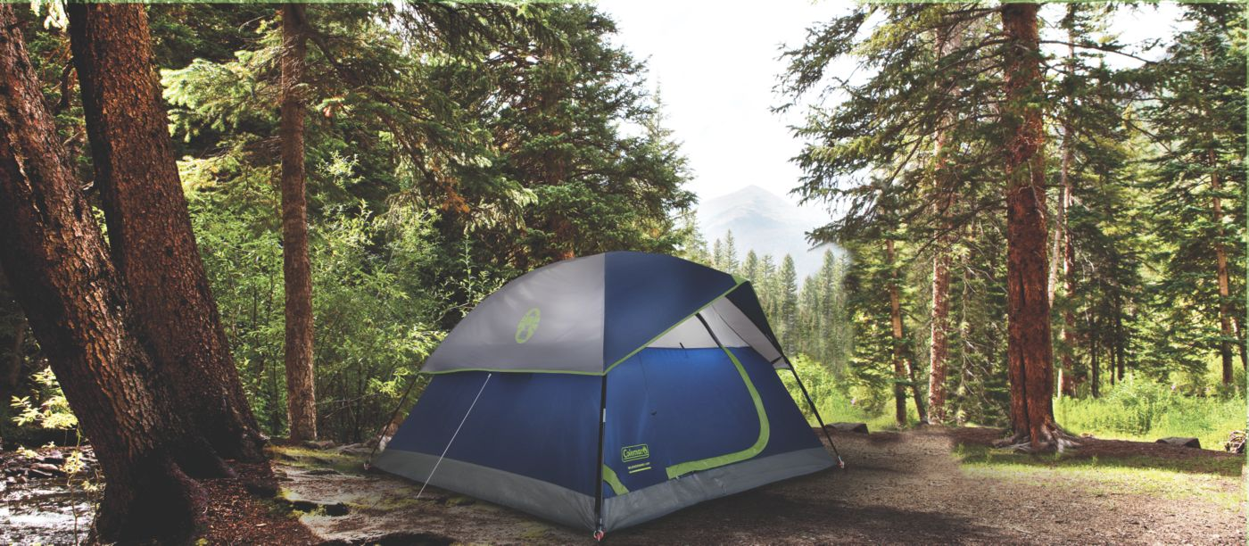 ... Sundome® 4-Person Dome Tent ...  sc 1 st  Coleman & 4 Person Dome Tent | Sun Dome Tent | Coleman