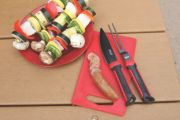 Rugged Stainless Steel Carving Set