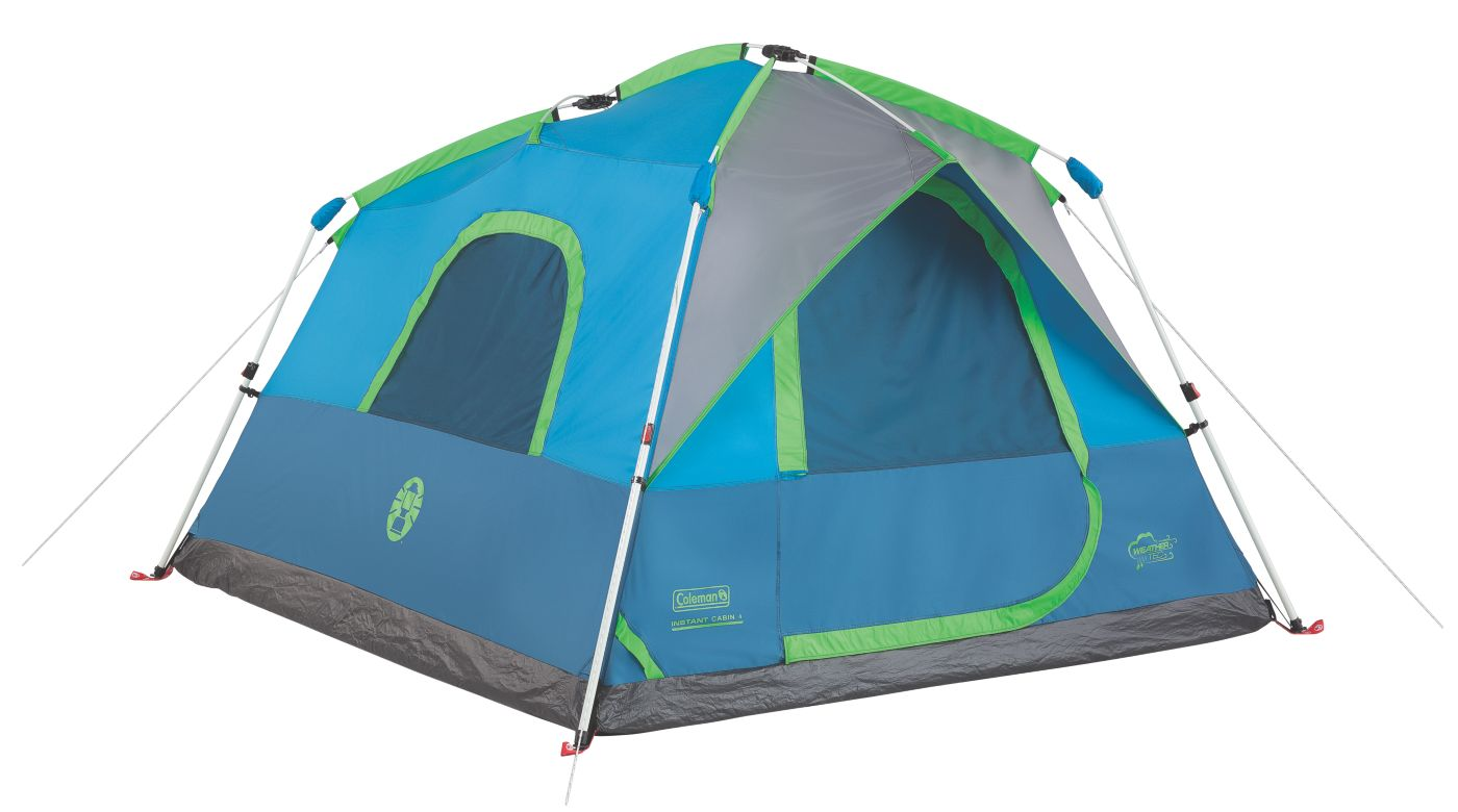 Signal Mountain™ 4-Person Instant Tent  sc 1 st  Coleman : 4 person coleman tent - memphite.com