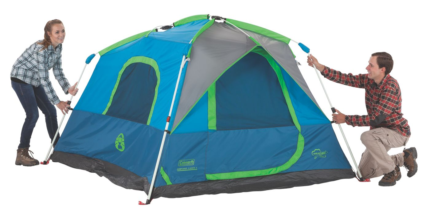 ... Signal Mountain™ 4-Person Instant Tent ...  sc 1 st  Coleman : 4 person instant tent - memphite.com