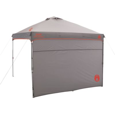 10 x 10 Canopy Sun Shelter with Full-Length Shade Wall
