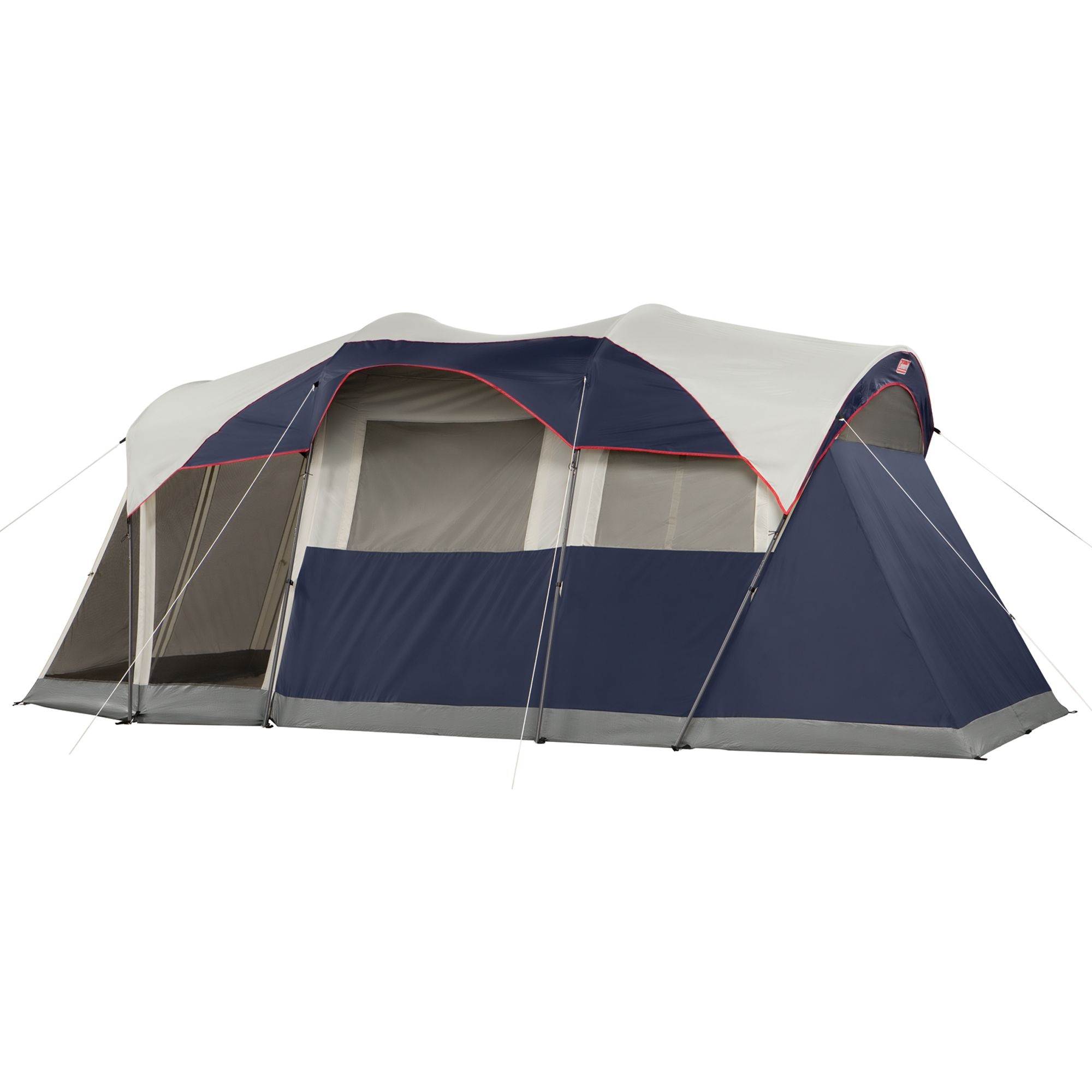 Elite Weathermaster 6 Person Lighted Tent With Screen Room