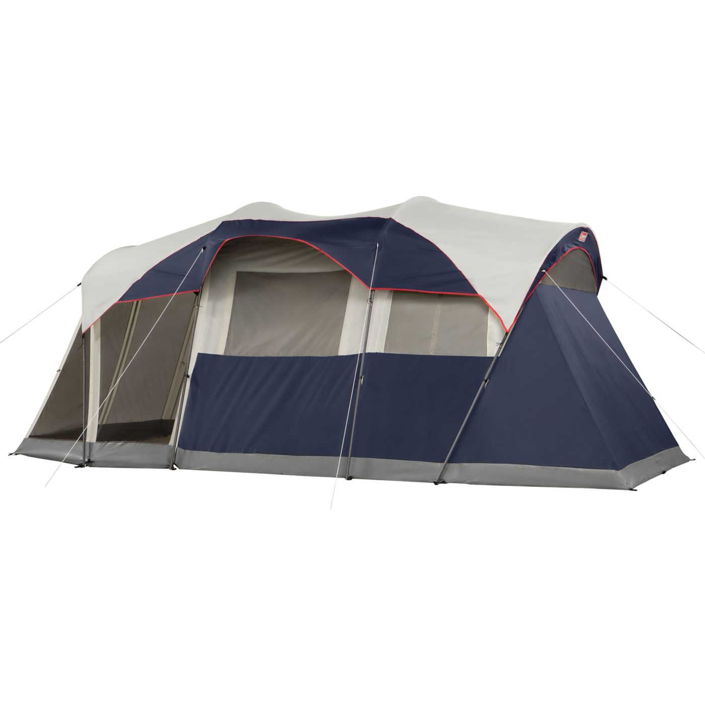 Elite WeatherMaster® 6-Person Lighted Tent with Screen Room  sc 1 st  Coleman : 6 room tent - memphite.com