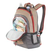 28-Can Soft Cooler Backpack, Khaki image number 2