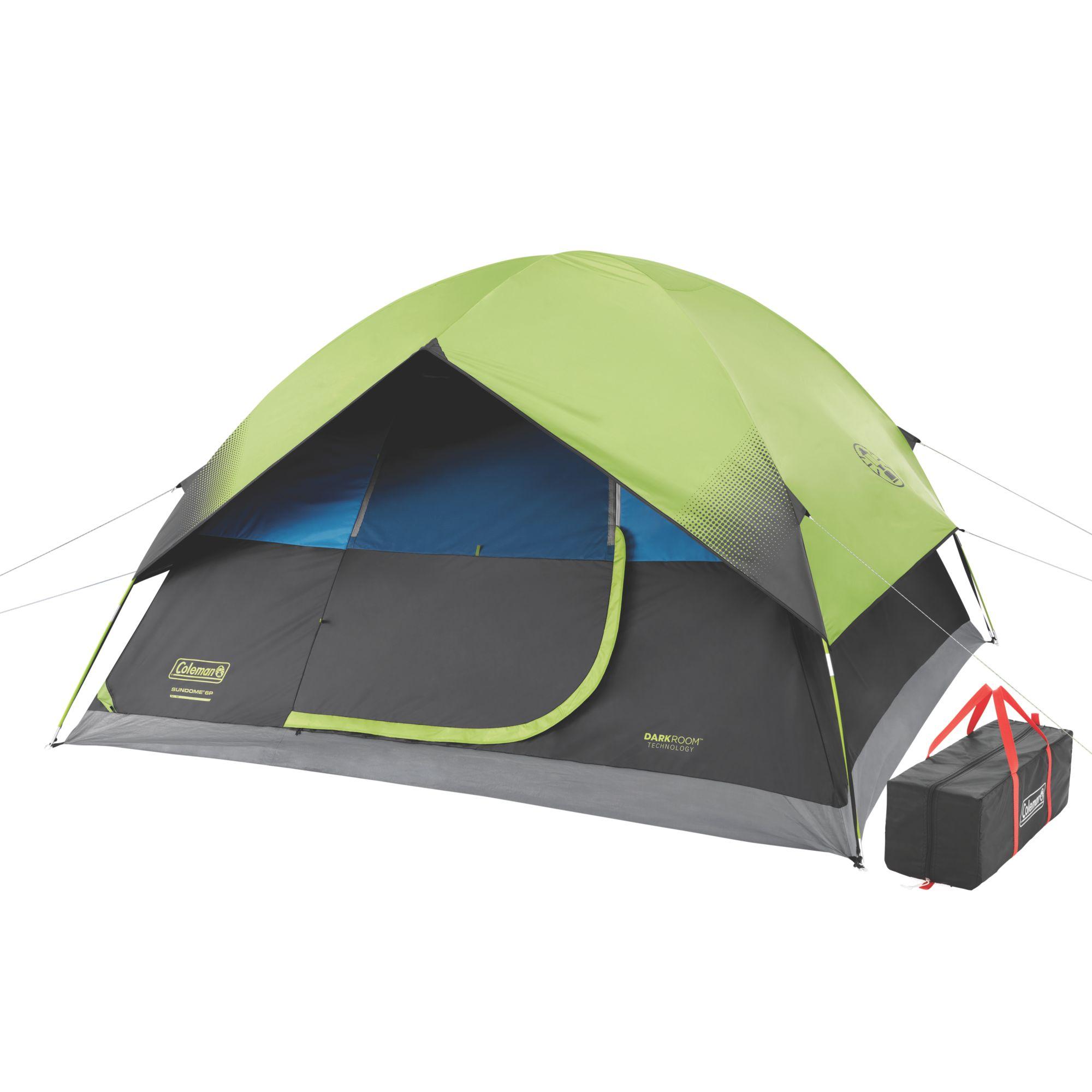 6-Person Dark Room Sundome Tent | Coleman