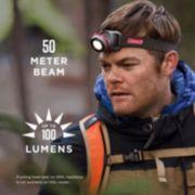 100 Lumens LED Headlamp with BatteryGuard™ image 3