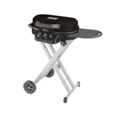 Coleman RoadTrip 225 Portable Stand-Up Propane Grill, Black