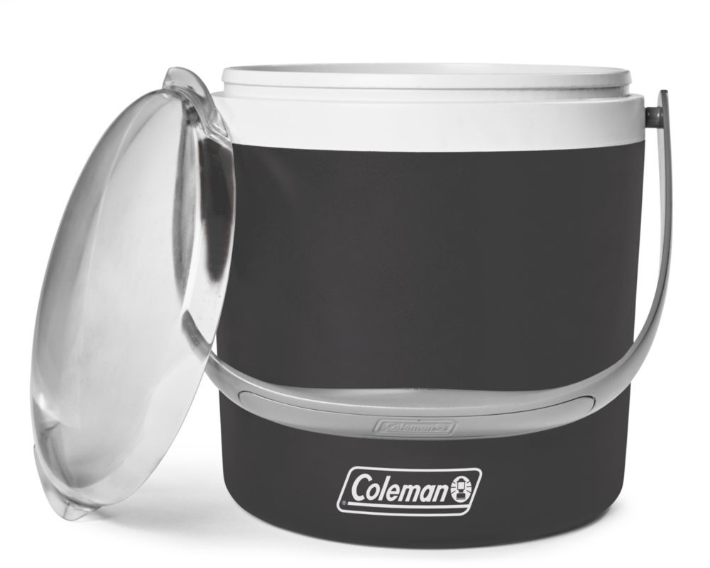 12 Can Party Circle Cooler - Black Sand