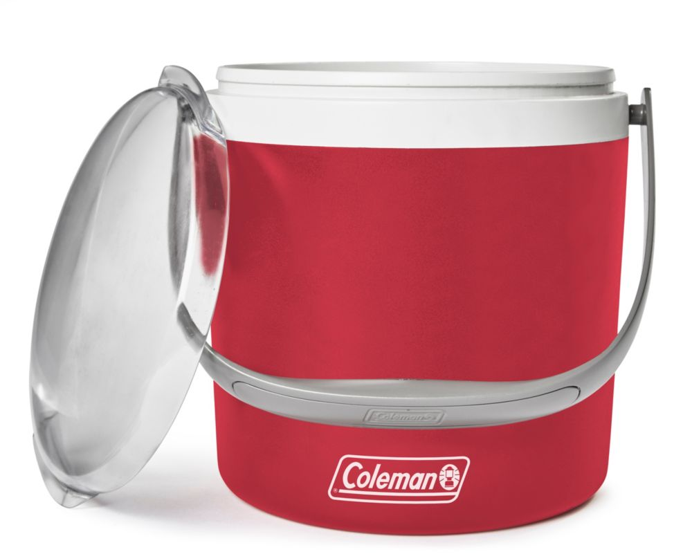 12 Can Party Circle Cooler - Heritage Red