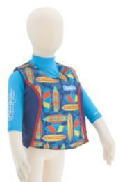 Puddle Jumper® Kids 2-in-1 Life Jacket and Rash Guard, Surfboards image 2