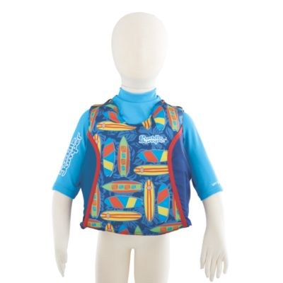Puddle Jumper® Kids 2-in-1 Life Jacket and Rash Guard, Surfboards