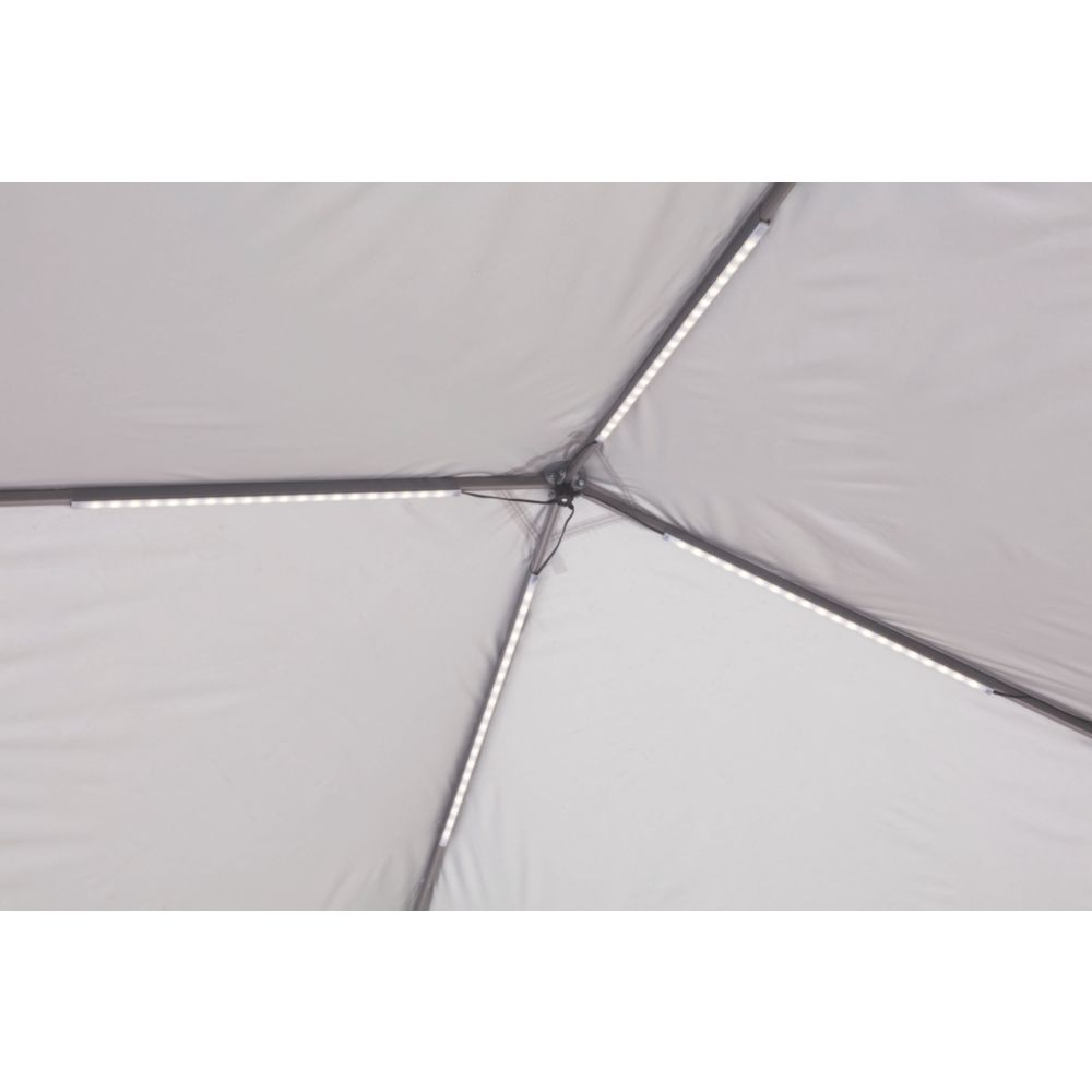 Coleman Canopy Shelter with All-Night LED Lighting   Coleman