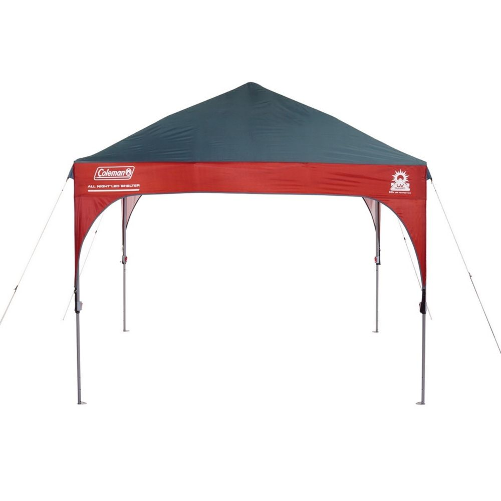 uk availability 20f70 da224 Coleman Canopy Shelter with All-Night LED Lighting   Coleman