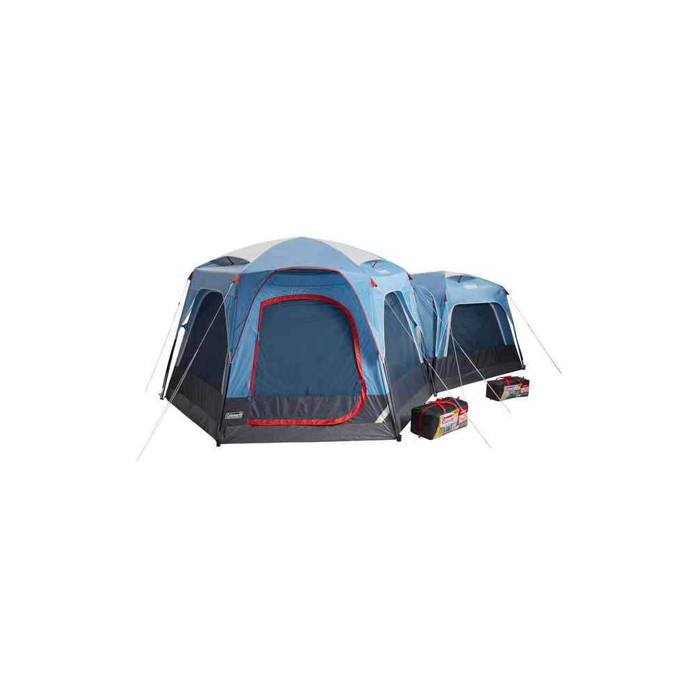 ce6066beb72 ... Coleman 3-Person Connecting Modular Tent System with Fast Pitch Setup,  Blue image 3 ...