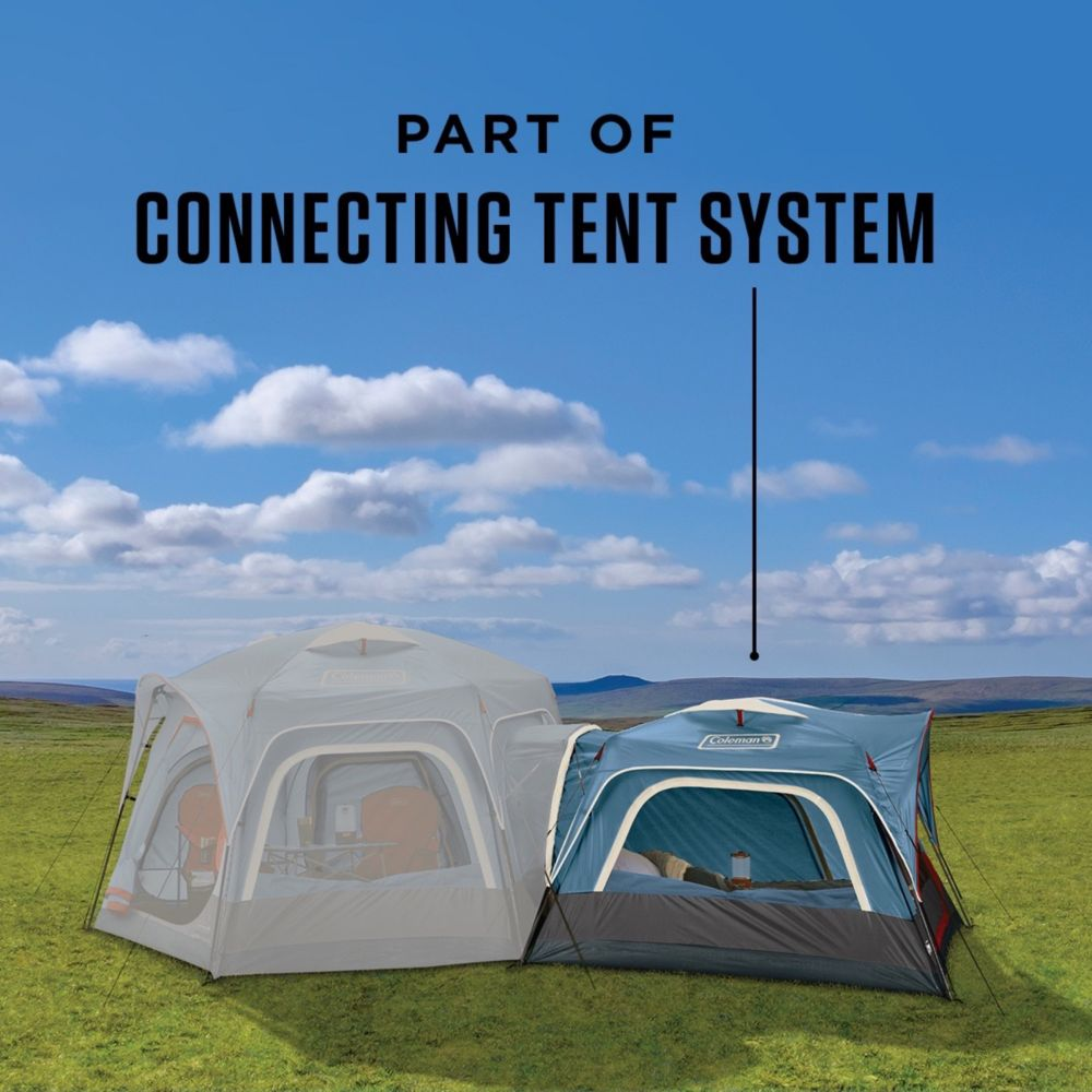 65283c9a5cc ... 3-Person Connectable Tent with Fast Pitch Setup, Blue image 2 ...