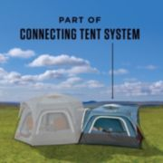 3-Person Connectable Tent with Fast Pitch Setup, Blue image 2