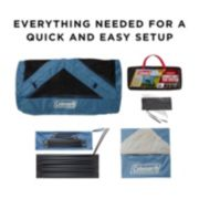 3-Person Connectable Tent with Fast Pitch Setup, Blue image 7